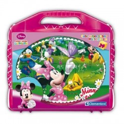 Puzzle 24 cubes - Mickey et ses amis
