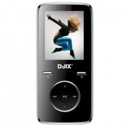 D-JIX M350 8GO - Lecteur MP3 8Go - Ecran LCD - Lecteur photos, vidéos et eBook - Noir