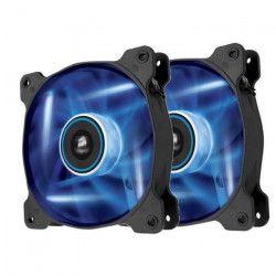 CORSAIR Ventilateur AF120 - Diametre 120mm - LED Bleues - Dual Pack (CO-9050016-BLED)