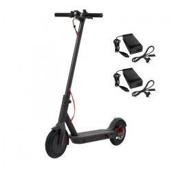 ECOGYRO Trottinette électrique R9 Black - 25 km/h - Noir