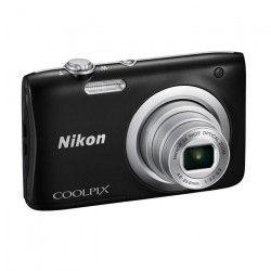 NIKON COOLPIX A100 Noir - 20,1 mégapixels - Zoom NIKKOR - Appareil photo compact