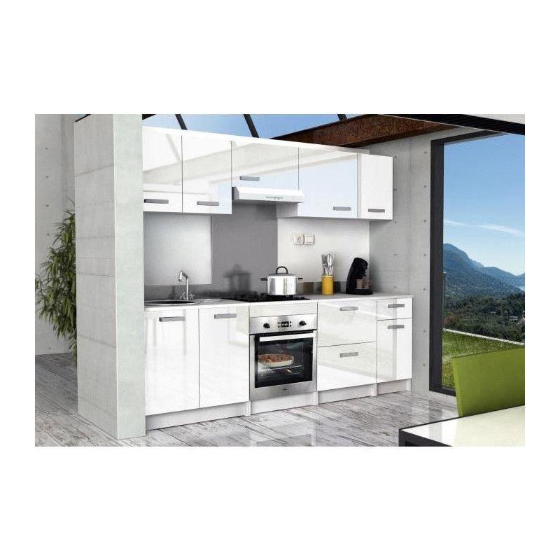 start caisson haut de cuisine l 60 cm blanc brillant. Black Bedroom Furniture Sets. Home Design Ideas