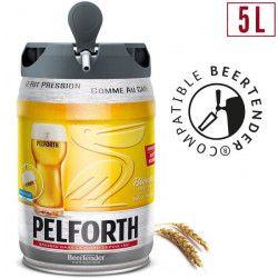 PELFORTH Fût de biere Blonde - Compatible Beertender - 5 L