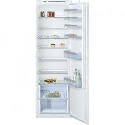 BOSCH KIR81VS30 - Réfrigérateur 1 porte encastrable - 319L - Froid statique - A++ - L 56cm x H 177,5cm
