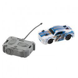 RACE TIN Petite Voiture télécommandée Car Muscle Car - Bleu et blanc - 1:32 - 8 km/h