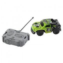 RACE TIN Petite Voiture télécommandée Car Truck 4x4 - Vert - 1:32 - 8 km/h