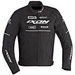 IXON Matrix Blouson Moto Textile Noir et Blanc