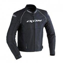 IXON FUELLER Blouson Moto Cuir Noir