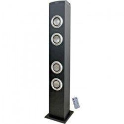 INOVALLEY HP41-BTH Tour de son Bluetooth Noire