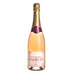 Champagne De Valbert Brut Rosé x1