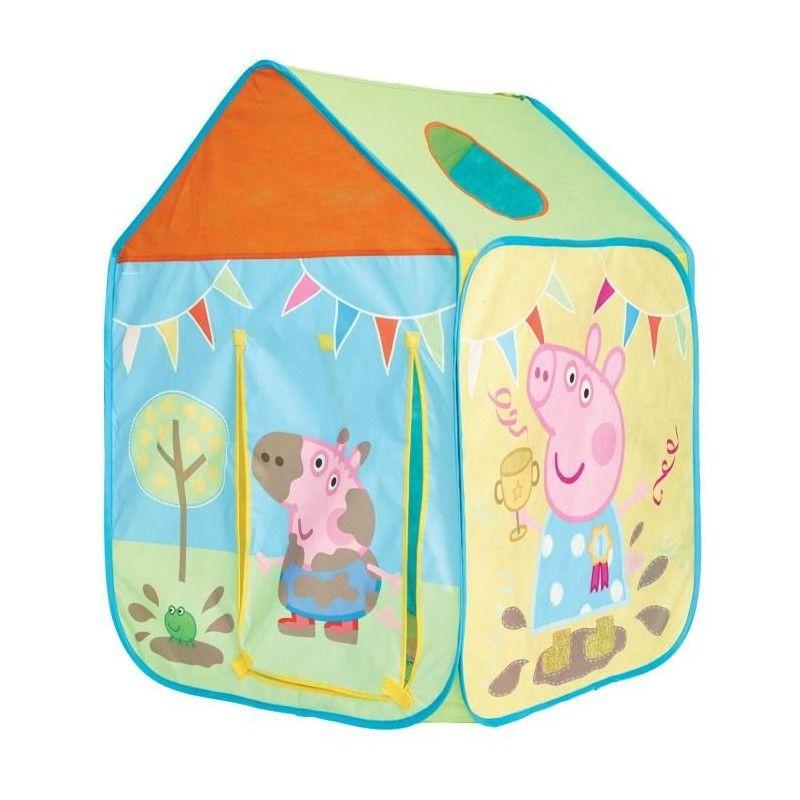 peppa pig cabane enfant en tissu getgo. Black Bedroom Furniture Sets. Home Design Ideas