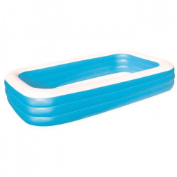 BESTWAY Piscine familiale de luxe - Bleu - 3 boudins - 305x183x56 cm