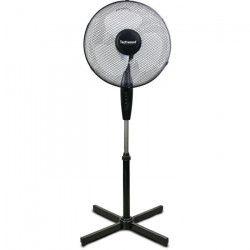 TECHWOOD 40 watts Ventilateur sur pied 40cm - 3 vitesses de ventilation - Réglage : - Hauteur - Oscillation -