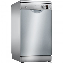 BOSCH SPS25CI04E - Lave vaisselle posable - 9 couverts - 46 dB - A + - Larg 45 cm - Inox - Moteur induction