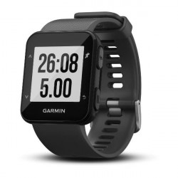 GARMIN Forerunner 30 Montre GPS de course connectée avec cardio - Gris