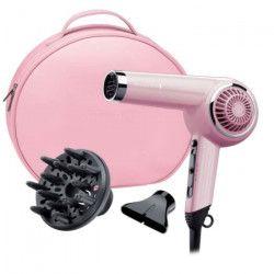 REMINGTON D4110OP Coffret Seche cheveux Rétro - 2000 W - Rose poudré