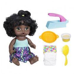 BABY ALIVE - Miam Miam les bonnes pâtes - Poupon a Fonctions (cheveux noirs)