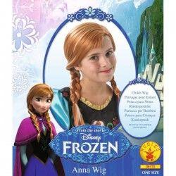 LA REINE DES NEIGES Perruque Anna