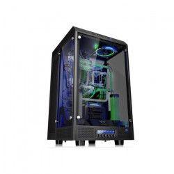 Thermaltake Boîtier PC The Tower 900 - Noir - Super Tour - Triple fenetre en verre trempé