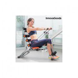 INNOVAGOODS Banc de musculation 6 x Intégral - Avec guide d`exercices