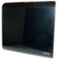 CGV 11532 Antenne d`intérieur - An-TNT CE Red TNT HD - Filtre 4G - Slim design - Noir laqué