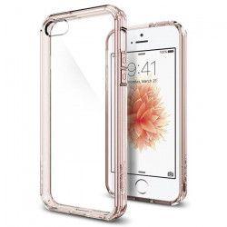 Spigen coque Ultra Hybrid pour iPhone 5 / 5S / SE Rose Crystal