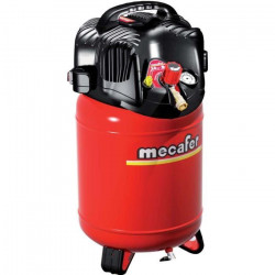 MECAFER Compresseur d`air vertical 24L 1,5HP Twenty