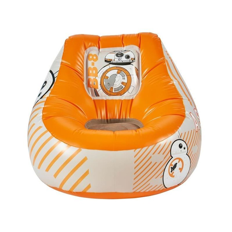 star wars fauteuil enfant gonflable poire bb 8. Black Bedroom Furniture Sets. Home Design Ideas