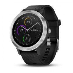 GARMIN Vivoactive 3 Silver Montre connectée GPS Cardio - Noir / Argent