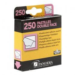 PANODIA Boîte de 250 pastilles adhésives double-face