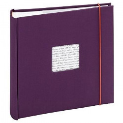 PANODIA Album photo a pochettes Linea - 200 vues - 11,5 x 15 cm - Violet