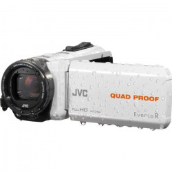 JVC GZ-R435B Camescope numérique Full HD Tout-terrain - Waterproof - Blanc