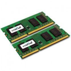 CRUCIAL mémoire PC DDR3L - 4GB KIT (2GB*2) - 1600 - SODIMM
