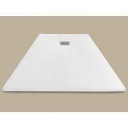 MITOLA Receveur de douche en résine composite Liwa - 140x90 cm - Blanc