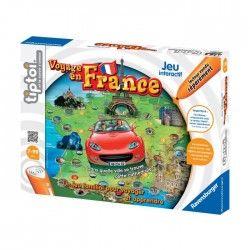 RAVENSBURGER Jeu Voyage en France Tiptoi