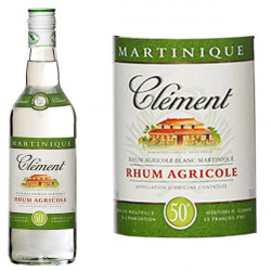 Rhum Blanc Clement 50° 70cl