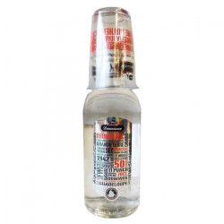 Damoiseau club blanc 70cl 50° + verre