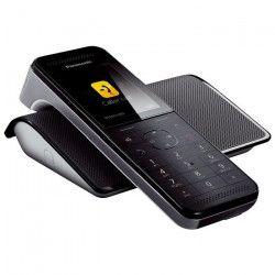 Panasonic KX-PRW110FRW Téléphone Sans Fil Sans Répondeur Noir