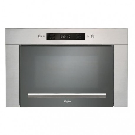whirlpool amw413ix micro ondes encastrable 22l inox. Black Bedroom Furniture Sets. Home Design Ideas