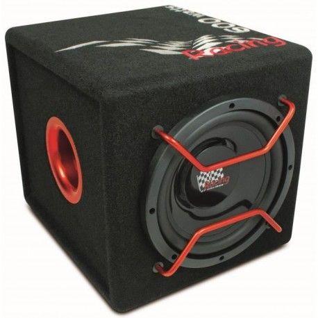 caliber caisson de basse amplifie avec subwoofer 20 cm 600 w noir. Black Bedroom Furniture Sets. Home Design Ideas