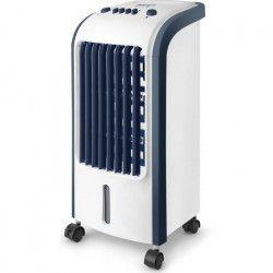 TAURUS ALPATEC Rafraîchisseur d`air - 80 W - 3 vitesses de ventilation - Blanc et bleu
