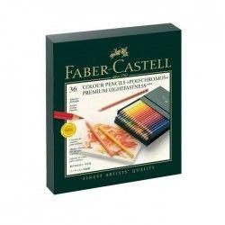 FABER-CASTELL 36 Crayons Polychromos