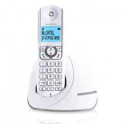 Alcatel F390 Solo Téléphone Sans Fil Sans Répondeur Blanc Gris