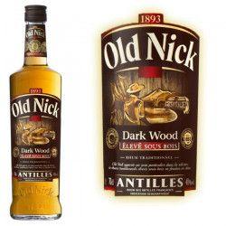 Rhum Dark Wood Old Nick 40° 70cl