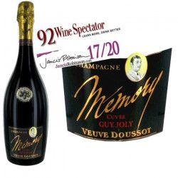 Champagne Mémory Veuve Doussot 2007 - Vin blanc x1
