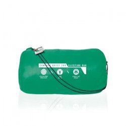 Sac de couchage BESTWAY Confort 68054 Polyester micro fibre - Repose tete - Matelassage carry bag - Vert