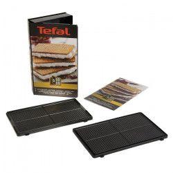 TEFAL Accessoires XA800512 Lot de 2 plaques gaufrettes Snack Collection