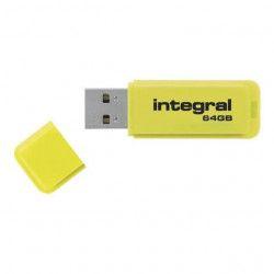 INTEGRAL Clé 64 Go USB 2.0 Neon - Bleu
