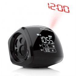 THHOMSON CP280 Radio Réveil - Double alarme - Noir