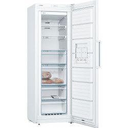 BOSCH GSN33VW3P - Congélateur armoire - 225 L - Froid no frost multiairflow - A++ - L 60 x H 176 cm - Blanc